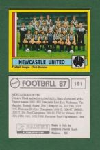 Newcastle United Team 191